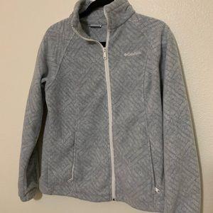 Gray Columbia Jacket Sz M